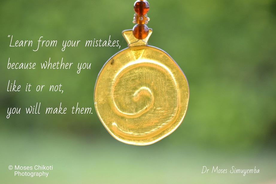 inspiring quotes. Dr Moses Simuyemba