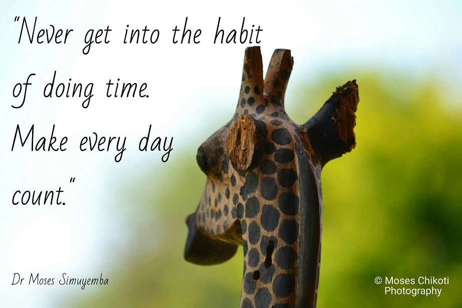 free motivation quote. Dr Moses Simuyemba. Lusaka, Zambia.