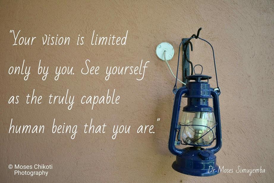 Vision Quotes - Dr Moses Simuyemba